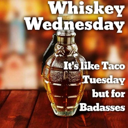 Whiskey Wednesdays Grenade